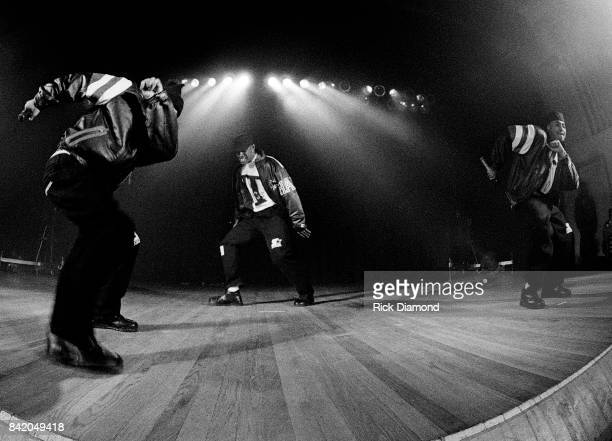 Hip Hop group performs during LaFace holiday party for families with kids in Atlanta Georgia December 18, 1992