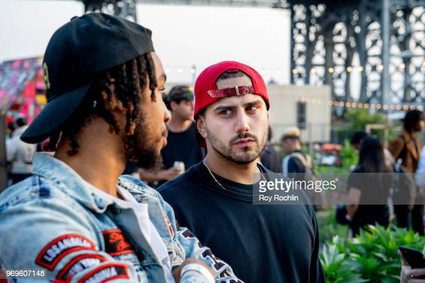 Hip Hop Mike attends Kanye West #PROJECTWYOMING Brooklyn Listening Party on June 7 2018 in the Brooklyn borough of New York City
