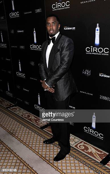Hip Hop Mogul Sean Diddy Combs attends the Sean Diddy Combs' Birthday Celebration Presented by Ciroc Vodka at The Grand Ballroom at The Plaza Hotel...