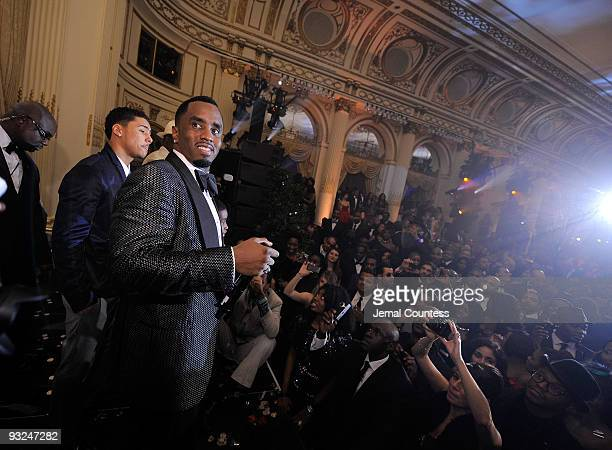 """Hip Hop Mogul Sean """"Diddy"""" Combs takes the stage during the Sean """"Diddy"""" Combs' Birthday Celebration Presented by Ciroc Vodka at The Grand Ballroom..."""