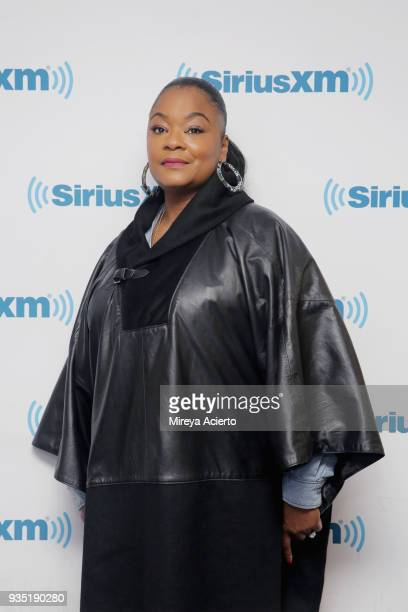 Hip Hop musician/rapper Roxanne Shante visits SiriusXM Studios on March 20 2018 in New York City