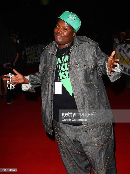 Hip Hop Pantsula, better known as HHP arrives for the MTV Africa Music Awards 2008 at the Abuja Velodrome on November 22, 2008 in Abuja, Nigeria.
