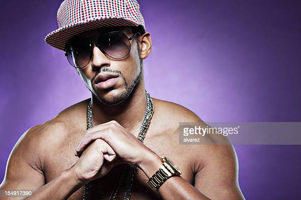hip hop rapper - all hip hop models stock photos and pictures