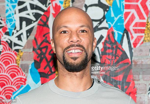Hip hop recording artist Common attends the Tanqueray Trunk Show launch event at TAO Downtown Lounge on January 31 2015 in New York City