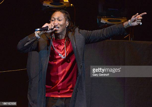 Hip hop recording artist Future performs at the 'Would You Like A Tour' Concert at Barclays Center on October 28 2013 in New York City