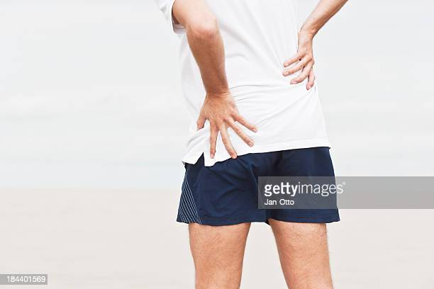 hip pain - osteoarthritis stock photos and pictures