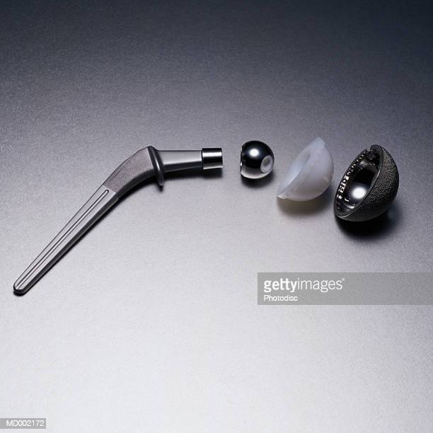 hip replacement parts - hip replacement stock pictures, royalty-free photos & images