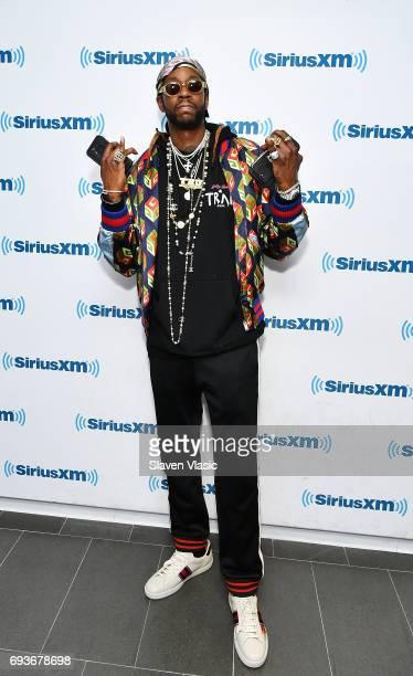 Hiphop artist 2 Chainz visits SiriusXM Studios on June 7 2017 in New York City