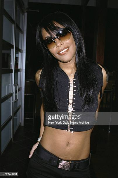 Hiphop artist Aaliyah is on hand at Jimmy's Uptown for a listening party for her soontobe released album also called 'Aaliyah'