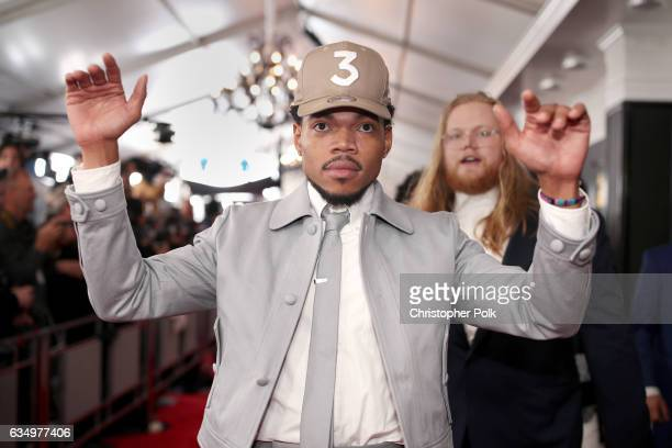 HipHop Artist Chance The Rapper attends The 59th GRAMMY Awards at STAPLES Center on February 12 2017 in Los Angeles California