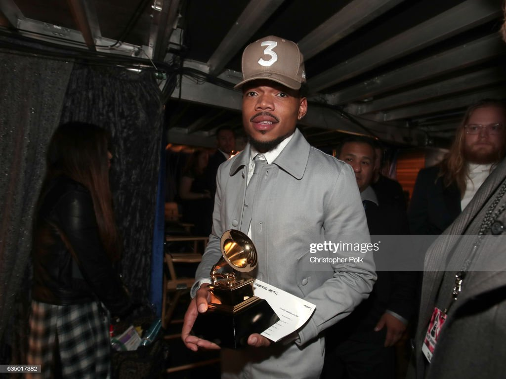 The 59th GRAMMY Awards - Backstage : News Photo