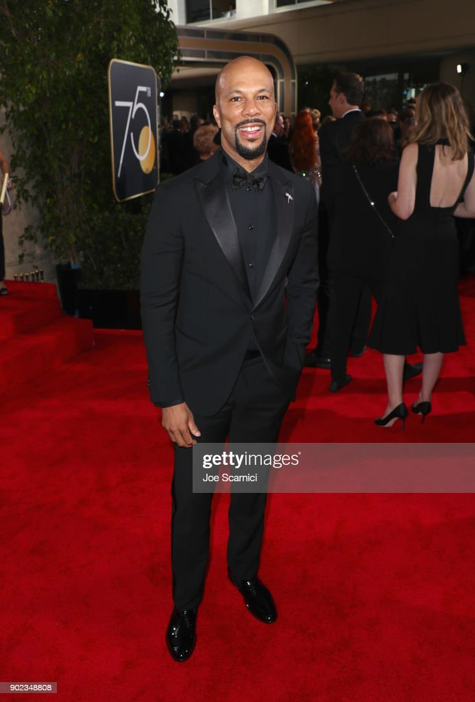 Hip-hop artist Common celebrates The 75th Annual Golden Globe Awards with Moet & Chandon at The Beverly Hilton Hotel on January 7, 2018 in Beverly Hills, California.