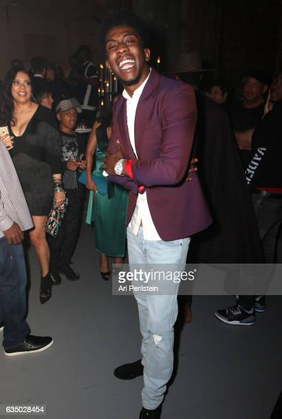 Hiphop artist Desiigner attends Universal Music Group 2017 Grammy after party presented by American Airlines and Citi at the Ace Hotel on February 12...