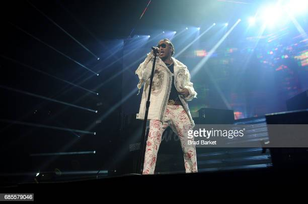 Hiphop artist Future performs at Future In Concert Brooklyn New York at Barclays Center on May 19 2017 in New York City