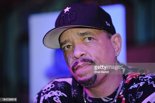 Hip-hop artist Ice-T attetnds the CBGB Music & Film Festival 2013 - By Invitation Only Q&A With ICE-T on October 12, 2013 in New York City.
