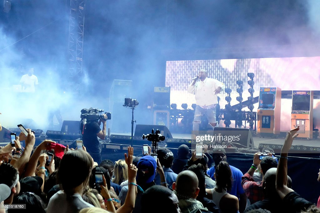 2016 Coachella Valley Music And Arts Festival - Weekend 1 - Day 1 : News Photo