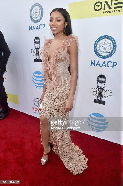 Hiphop artist Lil Mama attends the 48th NAACP Image Awards at Pasadena Civic Auditorium on February 11 2017 in Pasadena California