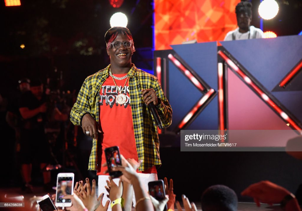 Hip-hop artist Lil Yachty performs onstage at MTV Woodies LIVE on March 16, 2017 in Austin, Texas.