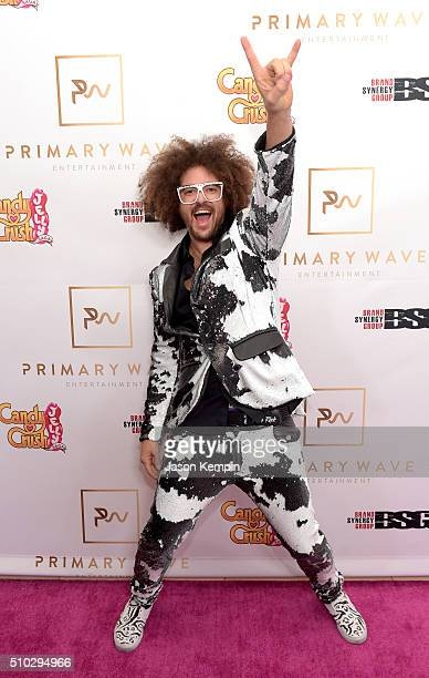Hiphop artist Redfoo attends the Primary Wave 10th Annual PreGrammy Party at The London West Hollywood on February 14 2016 in West Hollywood...