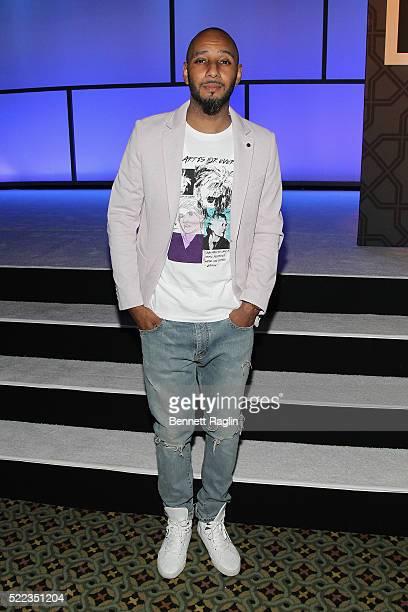 Hiphop artist Swizz Beatz attends the 2016 SESAC Pop Music Awards on April 18 2016 in New York City