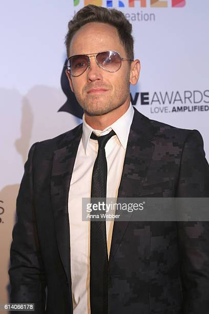Hiphop artist TobyMac arrives at the 2016 Dove Awards at Allen Arena Lipscomb University on October 11 2016 in Nashville Tennessee