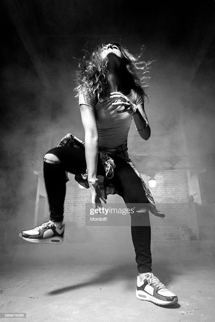 Hip-hop Female Dancer : Stock-Foto