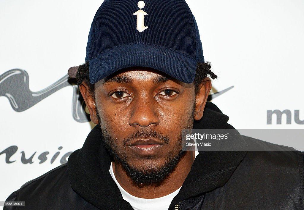 Kendrick Lamar Visits  Music Choice : News Photo