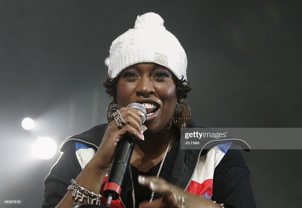Missy Elliott Plays Carling Apollo Hammersmith : News Photo