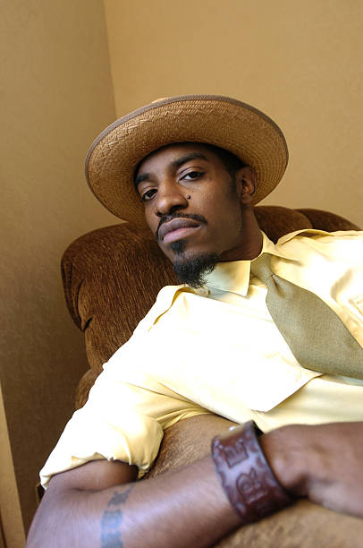 Hip-hop star Andre Benjamin, also known as Andre 3000 of the