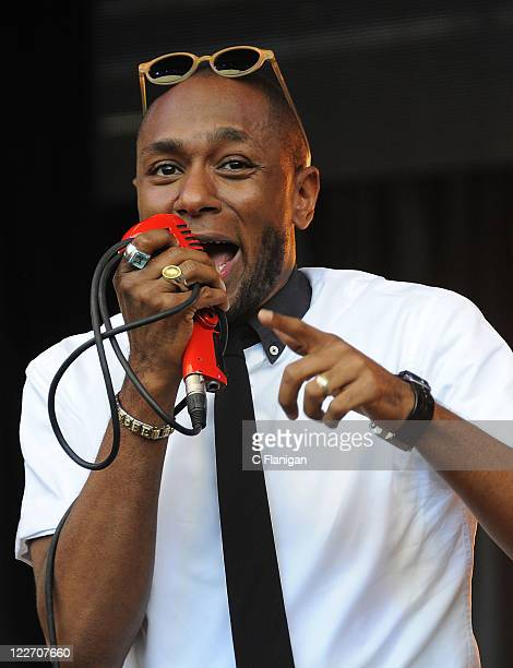 HipHop Vocalist Mos Def of Black Star performs during the 2011 Rock The Bells Music Festival at Shoreline Amphitheatre on August 27 2011 in Mountain...