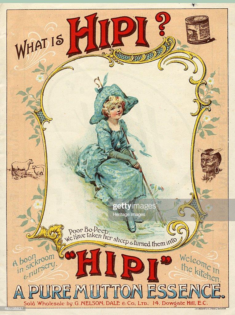 Hipi Mutton Essence, 1900-1920. : News Photo