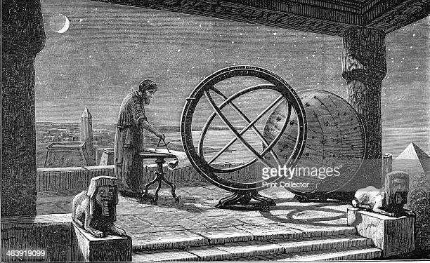 Hipparchus Ancient Greek astronomer 2nd century BC Artist's reconstruction of Hipparchus at work A methodical observer Hipparchus compiled the first...