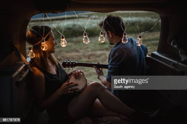hippie life - simple living stock pictures, royalty-free photos & images
