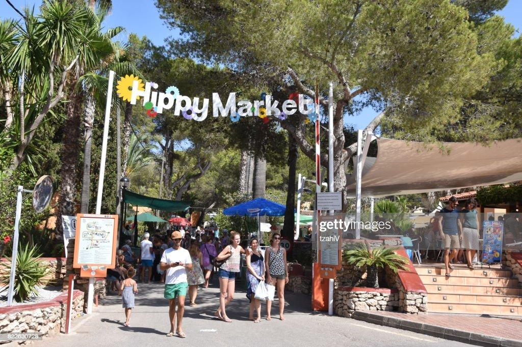 Hippie Market, Ibiza Spain : Stock Photo