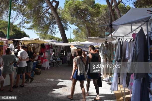 Hippiemarkt, Ibiza Spanje