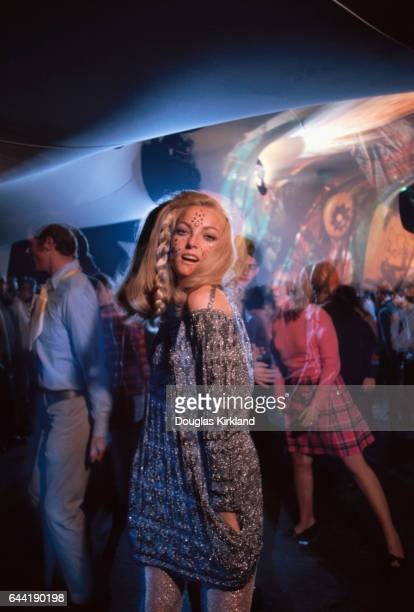 Hippie Woman Dancing During the Summer of Love