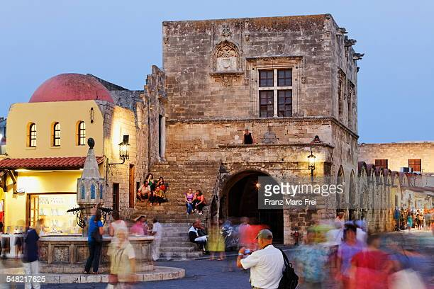 Hippocrates square, Old town, Rhodes Town