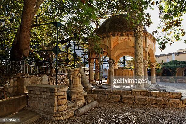 Hippocrates's plane tree and fountain, Kos town