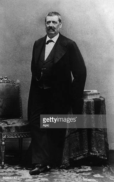 Hippolyte de Villemessant french journalist, founder of french papers , photo by Disderi