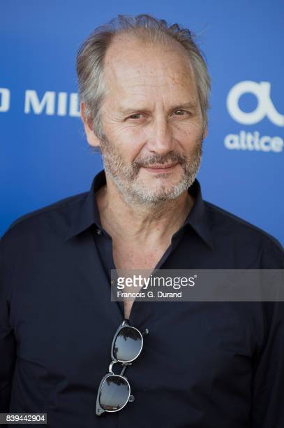 Hippolyte Girardot attends the 10th Angouleme FrenchSpeaking Film Festival on August 26 2017 in Angouleme France