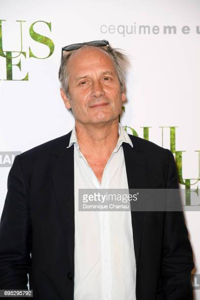 Hippolyte Girardot attends the 'Ce Qui Nous Lie' Paris Premiere at Cinema UGC Normandie on June 12 2017 in Paris France