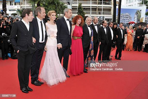 Hippolyte Girardot Lambert Wilson Sabine Azema Pierre Arditi Annie Duperey Michel Vuillermoz Denis Podalydes and Bruno Podalydes at the premiere for...