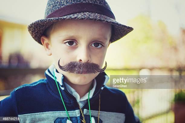Hipster criança
