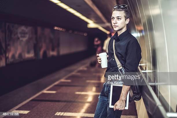 Hipster in der Stadt