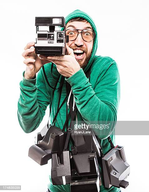 Hipster Instant Print Guy
