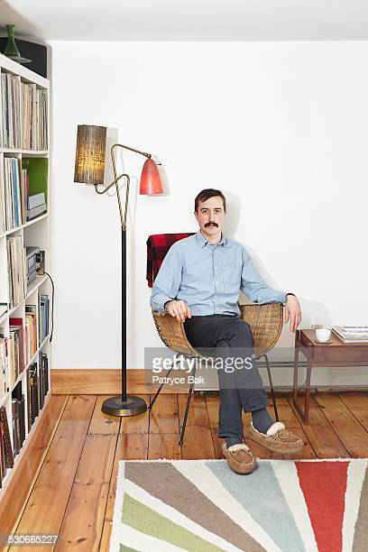 hipsters at home - irony stock pictures, royalty-free photos & images