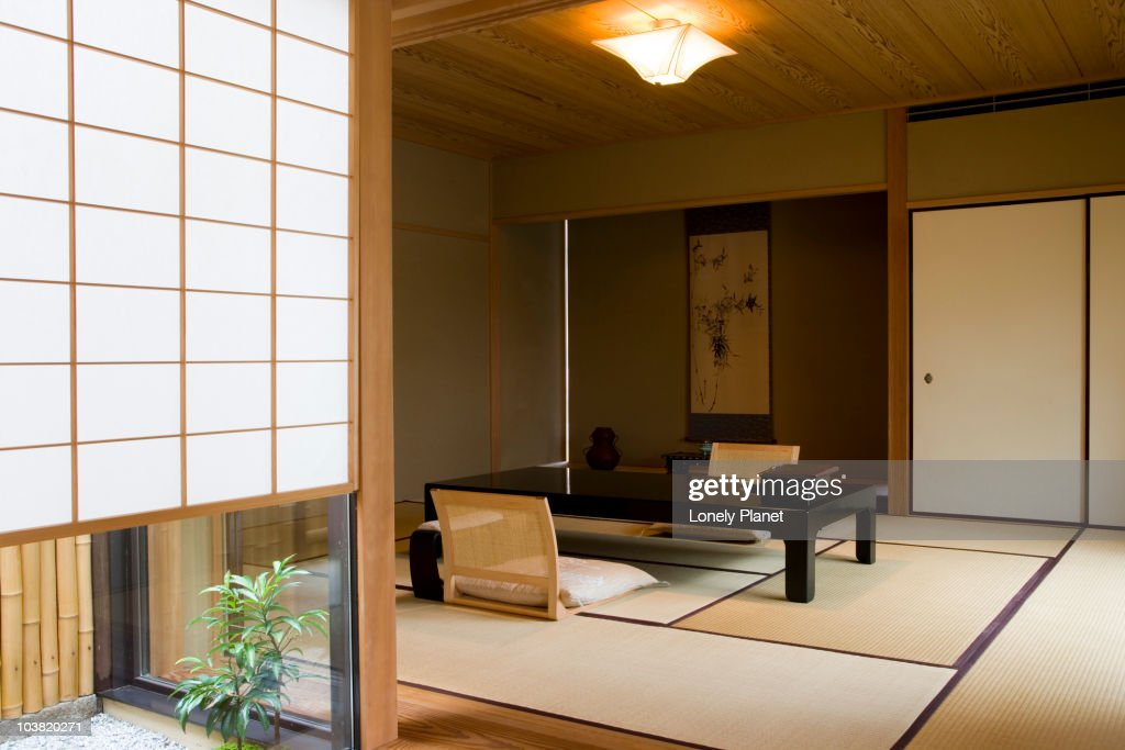 Hiragiya Ryokan, Downtown. : Stock Photo