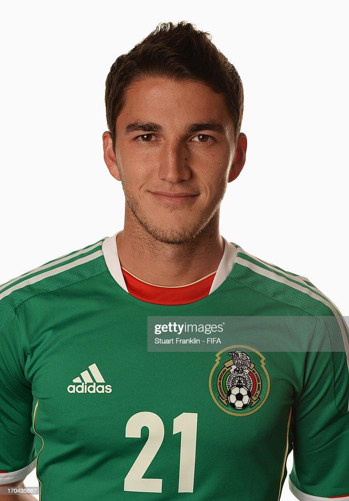 Mexico Portraits - 2013 FIFA Confederations Cup Brazil