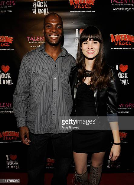 Hiram Murray and Soren Martin attend the Shamrock and Roll Concert for St. Jude Children's Hospital on March 17, 2012 in Los Angeles, California.
