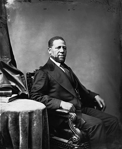 UNS: 25th February 1870 - Hiram Revels Is First African American Congressman